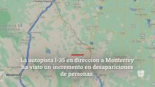 Estas son las rutas alternas si no quieres usar la carretera Nuevo Laredo - Monterrey