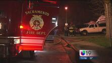 Incendio al sur de Sacramento deja 4 heridos