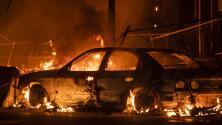 Incendios, saqueos y violencia en las protestas por la muerte del afroamericano George Floyd