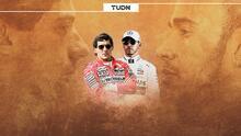 Leyendas vs. actualidad   Ayrton Senna - Lewis Hamilton