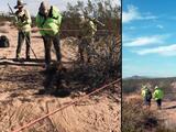 Hallan el cuerpo de un migrante cerca de casas móviles en el desierto de Arizona