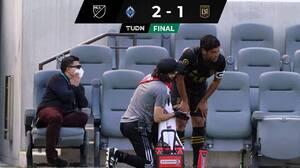 ¿Se debilita el MLS All-Star Team? Vela salió lesionado en derrota de LAFC