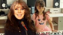 Verónica Castro cumple años y su nieta Rafaela la sorprende tocando el piano y cantando 'Las Mañanitas'
