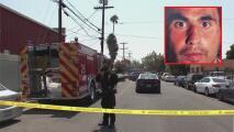Tras permanecer atrincherado, se entrega el sospechoso de matar a una mujer con un bate en Arlington Heights