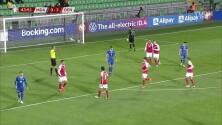 ¡Ya es goleada! Maehle empujó el 4-0 sobre Moldovia tras un rebote