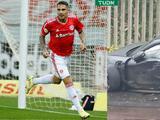 Paolo Guerrero, jugador del Internacional de Porto Alegre, sufre accidente automovilístico
