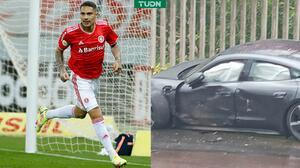 Paolo Guerrero sufre accidente automovilístico