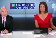 Jorge Ramos e Ilia Calderón nos muestran lo que pasa detrás de cámaras del Noticiero Univision