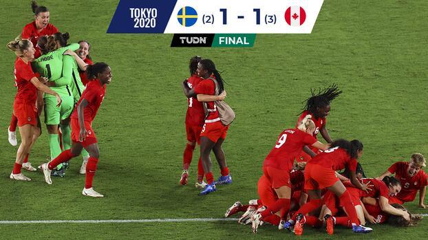 Canadá vence a Suecia y se cuelga el oro olímpico de Tokyo 2020