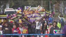 Marchas y protestas por el día del trabajo en el Área de la Bahía