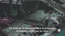 Buscan al responsable del choque en el que murió bebé de 18 meses en Los Ángeles