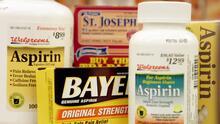 Nueva recomendación: mayores de 60 años no deben tomar aspirina para prevenir infartos o derrames