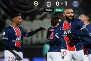 Paris Saint-Germain sufre pero saca el triunfo ante el Angers