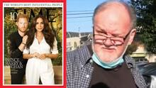 El padre de Meghan Markle reacciona porque su hija y Harry están en los más influyentes de Time