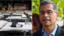 """""""Es una obligación moral"""": el secretario de Salud de EEUU sobre el albergue de niños migrantes en Long Beach"""