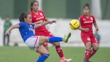 Con dos goles a 'velocidad luz', Toluca Femenil remontó 2-1 a Cruz Azul en el Infierno