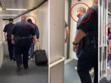 Escoltado por policías, Ted Cruz regresó a Texas después de breve viaje a México