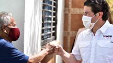 Samuel García impulsa caravanas de vacunación rumbo a Texas