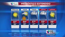 Sacramento tendrá lluvia y frío este miércoles 23 de noviembre