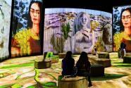 Frida inmersiva: la espectacular exposición donde los cuadros de la pintora mexicana cobran vida