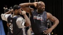 Shaquille O'Neal critica a LeBron James por quejas al calendario de NBA