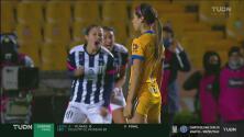 ¡Annia Mejía le da el gol del empate a Rayadas y tienen vida!