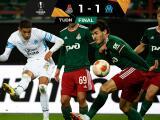 Olympique Marseille rescató gran empate ante Lokomotiv Moscú