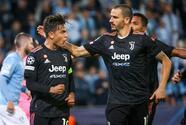 Juventus suma tres puntos, al doblegar a Malmö