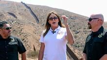 Republicana quiere quedarse con el puesto de Newsom y promete que frenará el cruce de indocumentados en California