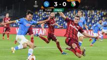 'Chucky' Lozano presencia el triunfo del Napoli 3-0 ante Legia Varsovia