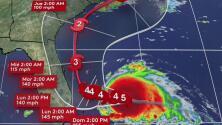 La zona costera de Broward sigue bajo vigilancia de tormenta tropical por el huracán Dorian