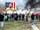 Rinden homenaje a soldado hispano del Valle que murió hace un año en un ataque militar en Irak