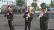 Al ritmo de los mariachis y con una emotiva caminata, así se celebró el Día del Padre en Boyle Heights