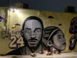 Vandalizan mural de Kobe Bryant horas después de su presentación