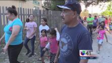 Protestan familias por malas condiciones de vida