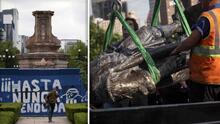 Anuncian reemplazo para estatua de Cristóbal Colón que fue removida en principal Avenida de Ciudad México