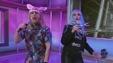 Listos para romper récords: Gigi Queen y Very Bad Bunny lanzan en Despierta América su 'reggaeton a la mascarilla'