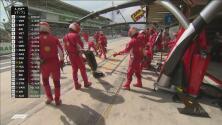 ¿Estrategia o equivocación? Ferrari canceló su parada en pits