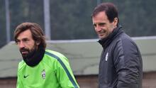 Juventus despide a Andrea Pirlo y contrata Massimiliano Allegri
