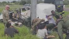 Desconocen su futuro legal los migrantes indocumentados que sobrevivieron al accidente vehicular en Texas
