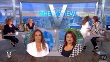 (VIDEO) Retiran a dos presentadoras de The View al aire tras dar positivo a covid-19 antes de entrevista a la vicepresidenta de EEUU