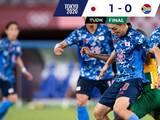 Japón gana por la mínima a Sudáfrica en el torneo olímpico de futbol de Tokyo 2020