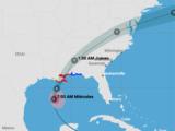 En vivo: sigue la trayectoria del huracán Zeta, tras haber tocado tierra en el sur de EEUU