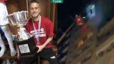 Jugador con Covid-19, rescatado desde el piso 11 por incendio