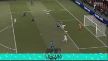 Recrean el gol del Real Madrid al Inter en el FIFA