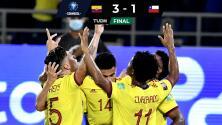 Colombia 'bailó' a Chile y toma aire de cara a Qatar 2022