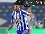 Jesús 'Tecatito' Corona da asistencia, pero eliminan al Porto de la Copa
