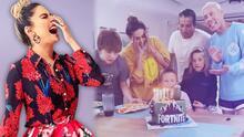 """Galilea Montijo tuvo pastel y mucho amor para su hijo Mateo, pero la """"mordida"""" estuvo prohibida en su cumpleaños 8"""