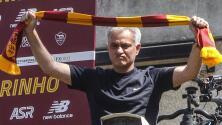 ¡The Special One! Así fue recibido Mourinho en Roma