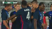¡De 'vaselina', cabeza y todos los colores! Team USA golea 4-0 a La Selecta